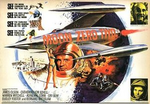 Moon Zero Two - U.S. theatrical release poster