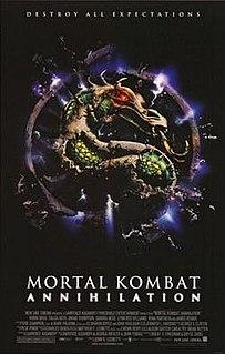 <i>Mortal Kombat: Annihilation</i> 1997 US action film directed by John R. Leonetti