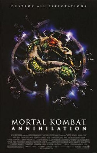 Mortal Kombat: Annihilation - Theatrical release poster