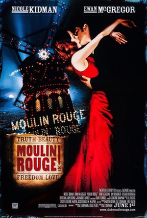 Moulin Rouge! - Theatrical release poster