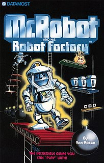 <i>Mr. Robot and His Robot Factory</i> 1983 video game