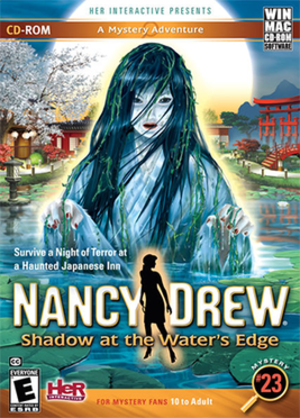 Nancy Drew: Shadow at the Water's Edge - Image: Nancy Drew Shadow at the Water's Edge Coverart