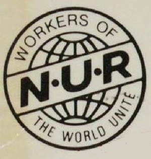National Union of Railwaymen - Image: National Union of Railwaymen logo