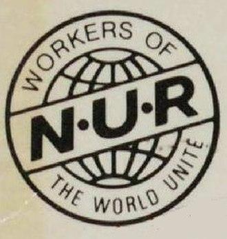 National Union of Railwaymen - Image: National Union of Railwaymen logo