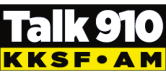 KKSF (AM) - Image: News Talk 910AM masthead logo