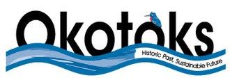 Okotoks - Image: Okotoks AB logo