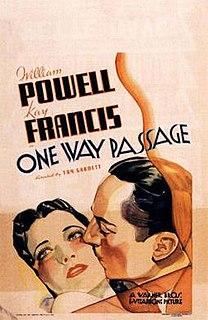 <i>One Way Passage</i> 1932 film