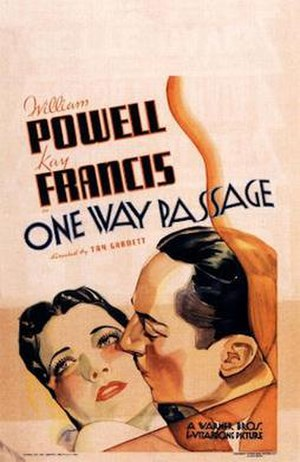 One Way Passage - Theatrical film poster