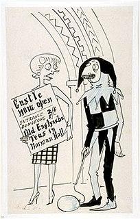 Maudie Littlehampton fictional character in Osbert Lancaster cartoons