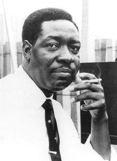 Otis Spann American Chicago blues pianist