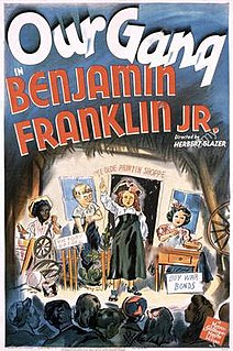 <i>Benjamin Franklin, Jr.</i> 1943 film