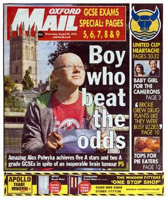 Oxford Mail - Image: Oxford Mail Cover