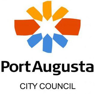 City of Port Augusta - Image: P Aug logo