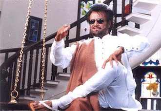 Padayappa - The scene where Padayappa pulls down a swing for him to sit on was based on a sequence in the Indian epic Ramayana, where the Hindu god Hanuman makes a chair for himself to sit on.