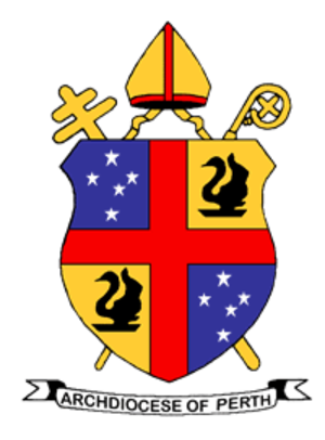 Roman Catholic Archdiocese of Perth - Coat of Arms of the Archdiocese of Perth, Western Australia