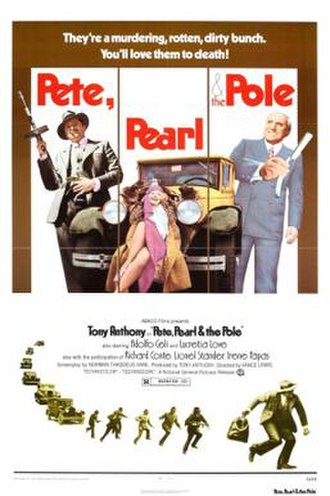 Pete, Pearl & the Pole - US film poster
