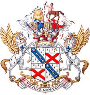 Marquess of Lansdowne - The full coat of arms of the Marquesses of Lansdowne