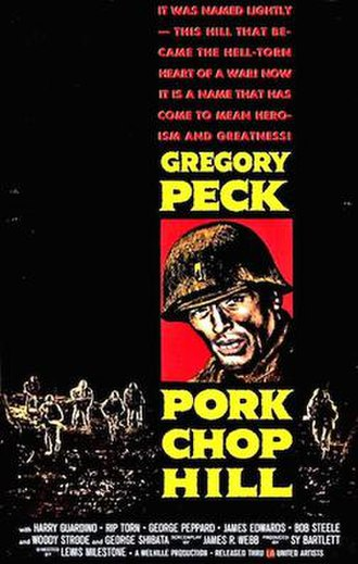 Pork Chop Hill - Theatrical release poster