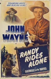 Poster of the movie Randy Rides Alone.jpg
