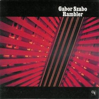 Rambler (Gábor Szabó album) - Image: Rambler (Gábor Szabó album)