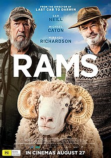 <i>Rams</i> (2020 film) 2020 film directed by Jeremy Sims