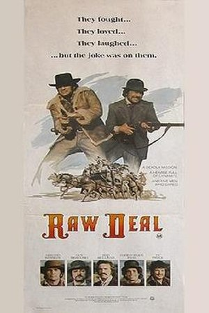 Raw Deal (1977 film) - Theatrical film poster