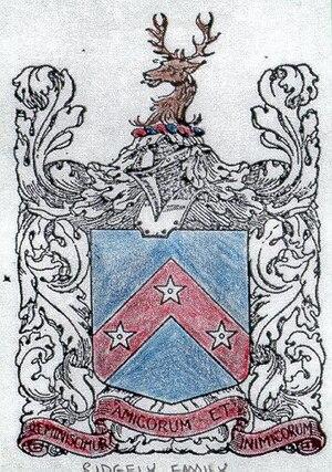 Charles Ridgely II - Ridgely Coat of Arms