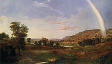 Robert Scott Duncanson - Landscape with Rainbow .jpg