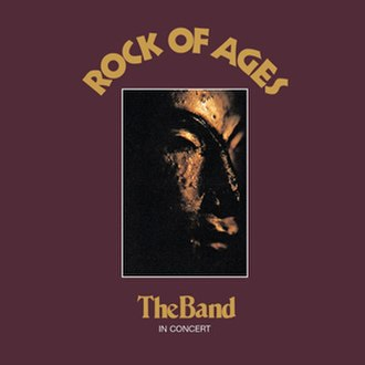 Rock of Ages (The Band album) - Image: Rock of Ages (The Band album cover art)