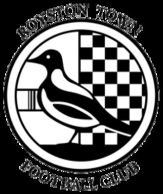 Royston Town F.C. - Image: Roystonlogo