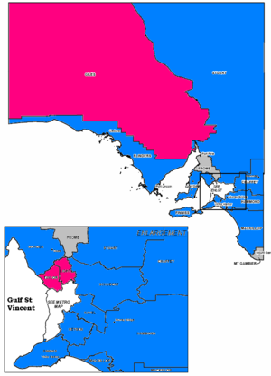 South Australian state election, 2010 - Rural seats