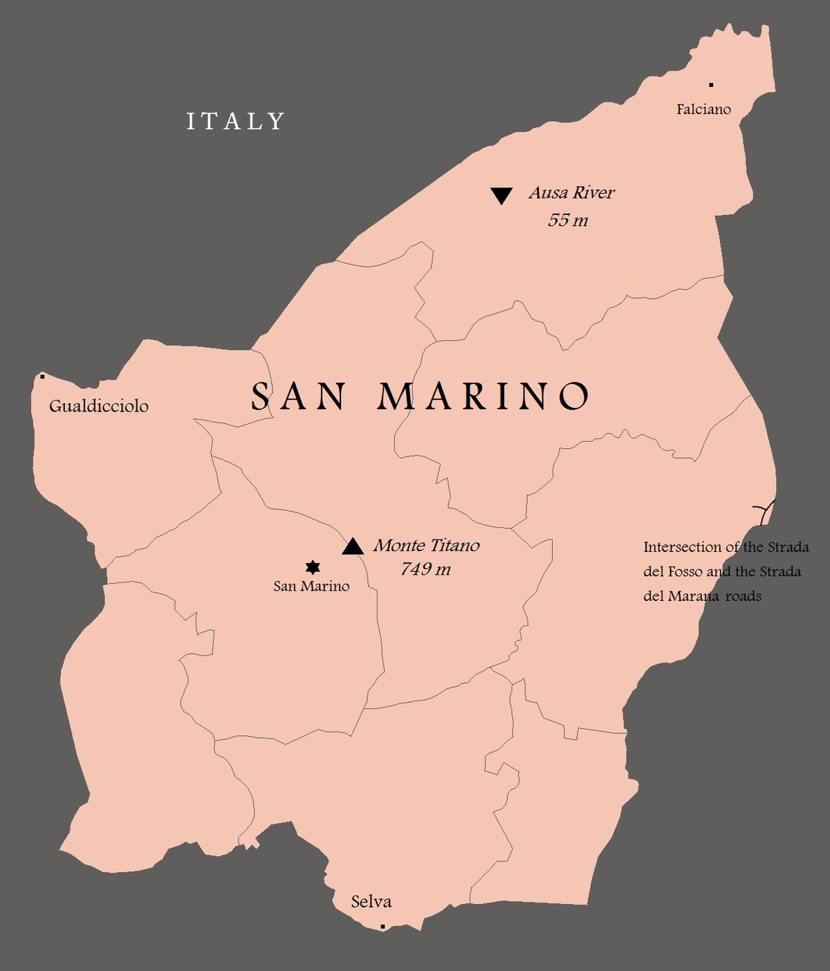 Extreme Points Of San Marino Wikipedia
