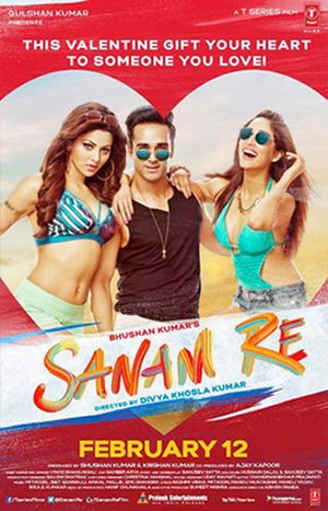 Sanam Re - Theatrical release poster