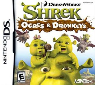 <i>Shrek: Ogres & Dronkeys</i> 2007 video game