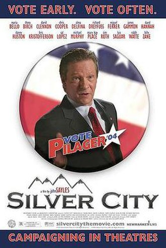 Silver City (2004 film) - Theatrical release poster