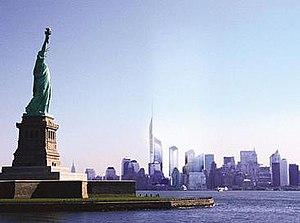 World Trade Center Site Memorial Competition - A skyline view