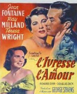 <i>Something to Live For</i> (film) 1952 film by George Stevens