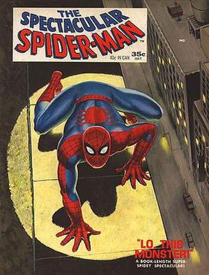 The Spectacular Spider-Man - Image: Spec Spider Mag 1