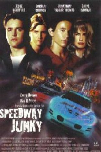 Speedway Junky - Promotional poster