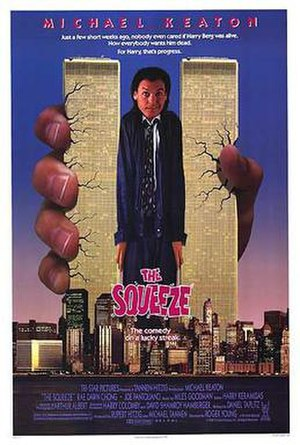 The Squeeze (1987 film) - Theatrical release poster