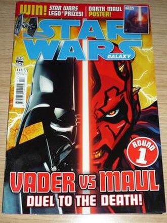 Star Wars (UK comics) - Image: Star Wars Galaxy issue 17