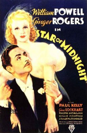 Star of Midnight - Theatrical release poster
