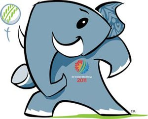2011 Cricket World Cup - Stumpy, the official mascot