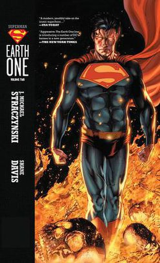 Superman: Earth One - Cover for Superman: Earth One, Volume 2 by Shane Davis
