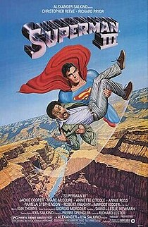 1983 superhero action comedy film directed by Richard Lester