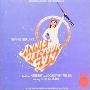 Annie Get Your Gun – 1986 London Cast - Image: Suzi Quatro Annie Get Your Gun album cover