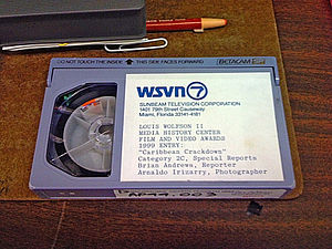 WSVN - WSVN archive betacam newstape at the Florida Moving Image Archive.