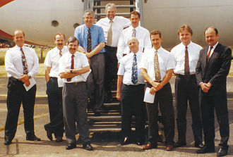 Turbo Dispatch - The very first standards meeting in 1994 (Boys with their Toys)