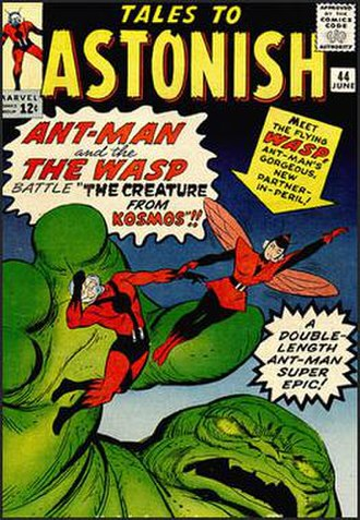 Wasp (comics) - Image: Talestoastonish