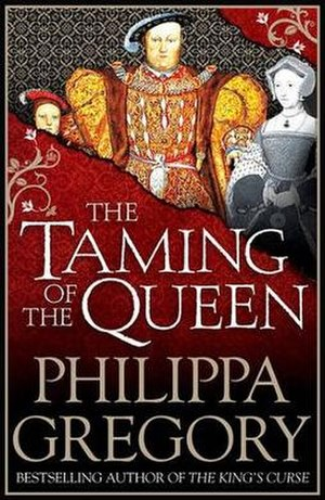 The Taming of the Queen - UK first edition cover
